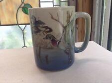 OTAGIRI Coffee Mug-Duck Scene Swamp Marsh-Made in Japan-Woodland Ducks