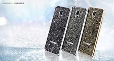 Samsung Galaxy Note 4 Swarovski Crystal Back Cover Case - Sunset Gold