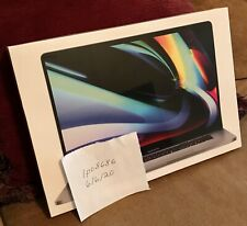 NEW! NO RESERVE! Apple MacBook Pro (16-inch, 2.6GHz, 9th Generation, i7, 512GB)