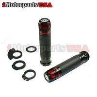 RACING HAND GRIPS W/ THROTTLE TUBE FOR MONSTER MOTO MM-B80 80CC 105CC MINI BIKE