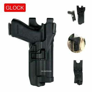 Serpa Light Bearing Level 3 Duty Mounted Belt Holster for GLOCK17 19 22 23 31 32