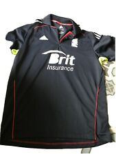 England Adidas Cricket Jersey - Shirt Size 40-42 - Very Good Condition.
