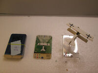 Wings of War: Fokker D.VII Miniature w/Card (Goring).  Good Condition