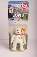 RARE & RETIRED Maple The Bear Ty Beanie Babies NIB OAKBROOK McDonalds
