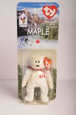 RARE & RETIRED Maple The Bear Ty Beanie Babies NIB OAKBROOK McDonalds