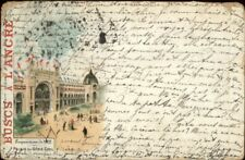 1900 Paris Expo Universelle Buscs A L'Ancre Advertising Used Postcard/Cover #3