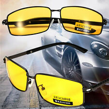 New Yellow Len Polarized UV 400 Sunglasses Night Vision Driving Eyewear Glasses