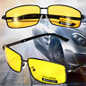 New Yellow Len Polarized UV 400 Sunglasses Night Vision Driving Eyewear Glasses