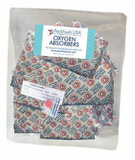 25 x 1000cc PackFreshUSA OXYGEN ABSORBER PACKETS for Long Term Food Storage