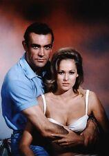 Movie PHOTO 8.25x11.75 James Bond 007 Dr No Sean Connery Ursula Andress 009