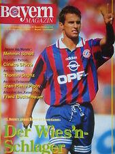Programm 1995/96 FC Bayern München - Bayer Leverkusen