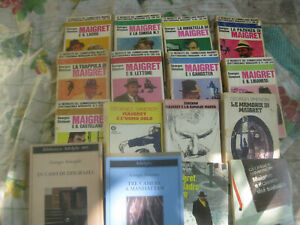 Maigret - Georges Simenon - Lotto misto 16 pezzi