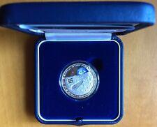 SBARCO SULLA LUNA 2019 ITALIA moneta 5 EURO ARGENTO Ag Proof Neil Armstrong Moon