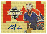 2016-17 Grant Fuhr Leaf Metal National Pride Super Prismatic Auto 1/1 - Oilers