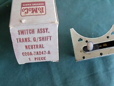 NOS 1962 1963 Ford Fairlane Neutral Start Switch 62 FoMoCo OEM C2OA-7A247-A