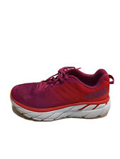 Hoka One One Women's Clifton 6, Running Shoes-Purple, Size US 7M.