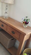 Antique Pine Small Sideboard/console table