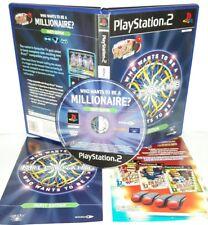 CHI VUOL ESSERE MILIONARIO QUIZ TV - Playstation 2 Ps2 Play Station Gioco Game
