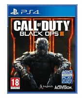 Call of Duty Black Ops 3 III PS4 Mint Same Day Dispatch 1st Class Super Fast Del