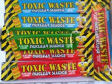 12 bars toxic waste Sour Sweet Box sweets gift box - Sour Cherry apple blue rasp