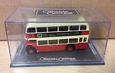 Corgi OOC, OM40803A - Bristol Lodekka Double Deck Bus, 25 Yrs of Corgi Club RARE