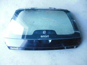 Smart forfour 454 Heck Heckklappe mit Scheibe ohne Anbauteile schwarz