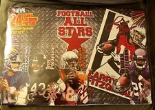 SEALED FOOTBALL ALL STARS 24 GIANT COLORING POSTERS NFLPA