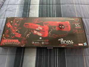 NERF Rival Deadpool Kronos XVIII-500 Pistol Set - E0861US20