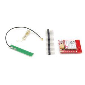 SIM800L GSM Modul, Quad Band GPRS, mit Spiral- und Klebe-Antenne, IoT Arduino