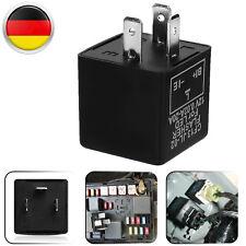 3-Polig einstellbar 12V Blinker Relais Blinkgeber Flasher für Auto LED Birnen DE