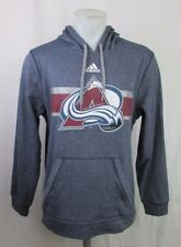 Colorado Avalanche Men's XL, 2XL Pullover Climawarm Hoodie NHL adidas