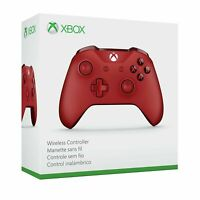 Brand New Microsoft Xbox One S Wireless Controller - Red