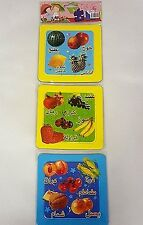 Arabic 3 Jigsaw  puzzles Game Photos , Fruit & Vegetables buy 1 get 1 free