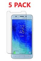 5x For Samsung Galaxy J3 Achieve J3 Star J3 2018 Tempered Glass Screen Protector