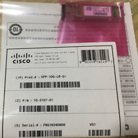 New Sealed Cisco SFP-10G-LR-S 10GBASE-LR SFP+ 1310nm 10km DOM Transceiver Module