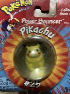 Vintage Pokemon Pikachu Power Bouncer #25 NIB NEW! Gotta catch em all!