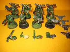 Warhammer 40k - Chaos Space Marines - 8x Plague Marines - Seuchenmarines