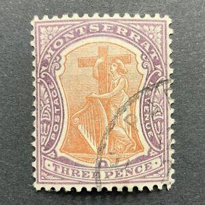 Agrome MONTSERRAT British 1903 SG# 18 Used CV £ 50+ (3021