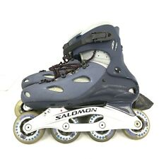 Salomon Grey Mens Adults Composite Inline Speed Skates Size UK 9 261546
