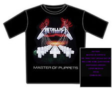 METALLICA Master of Puppets - Official Licenced Band T Shirt