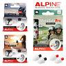 ALPINE MOTOSAFE EARPLUGS RACE, TOUR, PRO New & Improved Motosafe Biker Ear plugs
