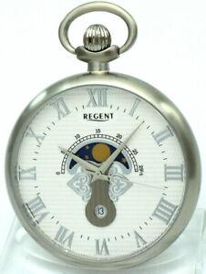 Elegante Regent Mondphasen-Taschenuhr NEU UVP* 148,00 EUR