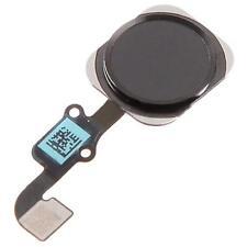 Neuf Rechange Noire Bouton Accueil Bouton Menu Câble Flexible pour Iphone 6 Plus