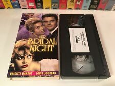 Her Bridal Night Classic Comedy VHS 1956 Brigitte Bardot Louis Jourdan 50's