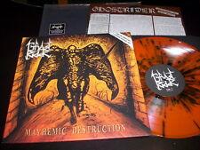 """Ghostrider """"Mayhemic Destruction"""" LP Limited Edition, Orange F.O.A.D. 019 Italy"""