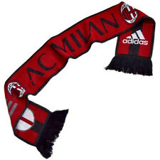 ACM AC MILAN Brand New Adidas Shield Red White Black Football Soccer Scarf