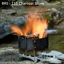 BRS - 116 Outdoor Wood-burning Stove Camping Charcoal Burner BBQ Furnace