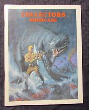 1975 COLLECTORS SHOWCASE #2 FVF Original Art Catalog 68pgs Strips & Animation