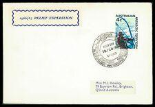 AAT Australian Antarctic FDC 1967 Relief Expedition cf74