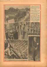 Lac du Bourget Savoie/Metro Berlin/Bugles Addis Ababa Ethiopia 1936 ILLUSTRATION